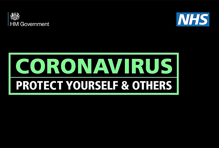 NHS Protect Yourself And Others Promotional Banner