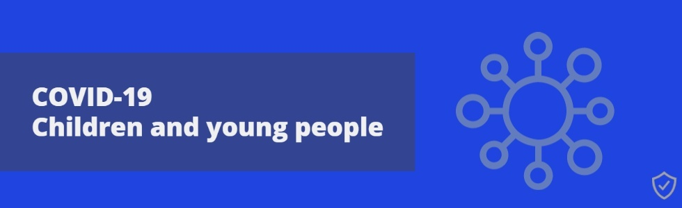 COVID-19 Children and Young People Promotional Banner