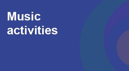 COVID-19 - Music activities