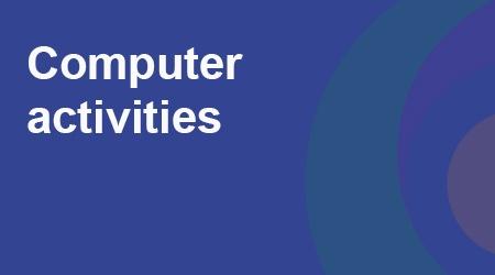 COVID-19 - Computer activities