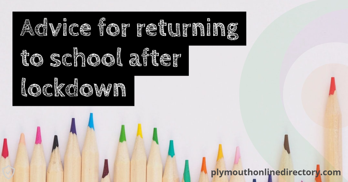 COVID-19 Advice For Returning To School Promotional Banner