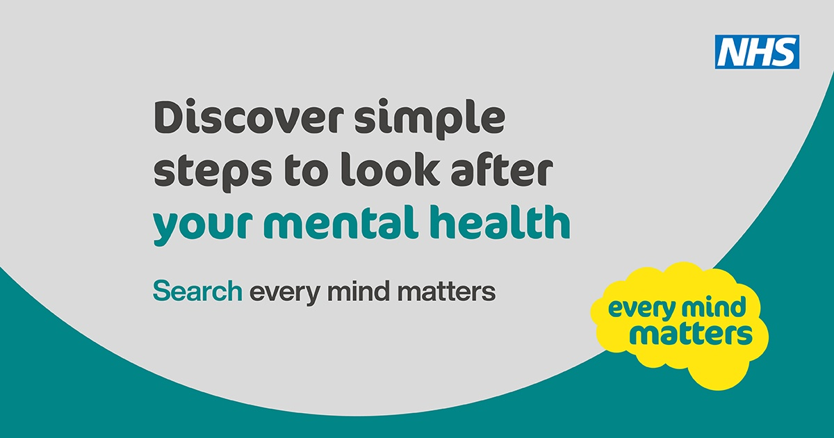 Every Mind Matters Promotional Banner