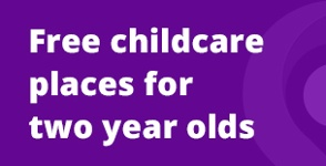Free childcare places image