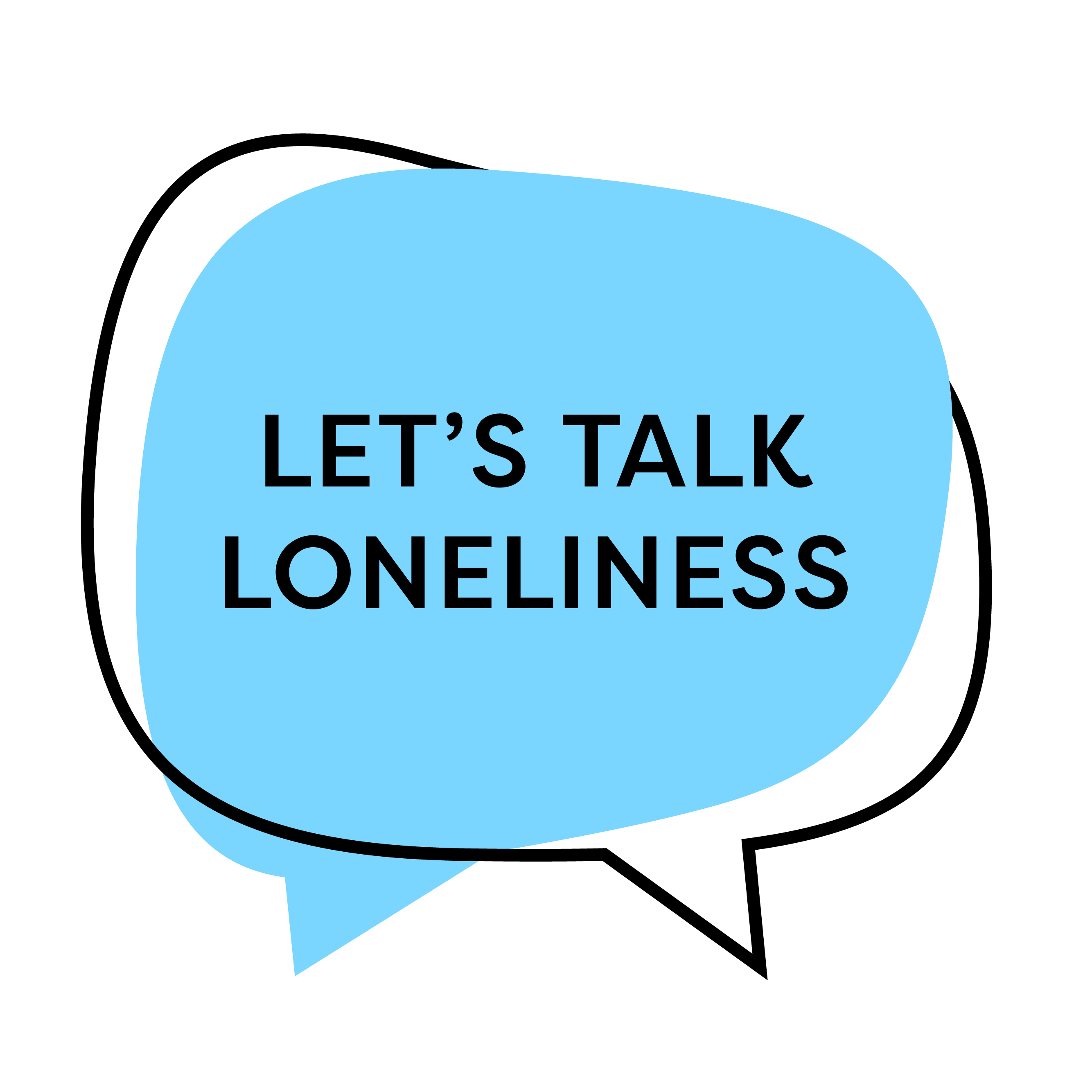 Lets Talk About Loneliness Logo